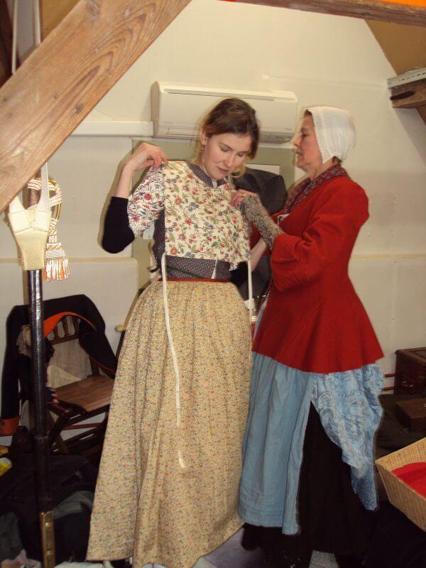 Masterclass istorische kleding