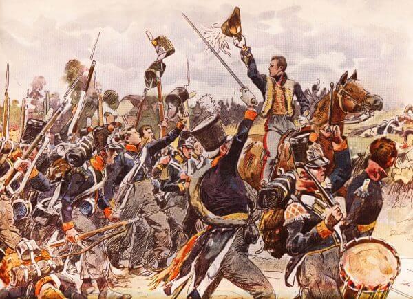 5e Bataljon Nationale Militie Waterloo