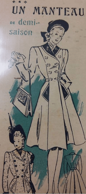 Coat 1945 EWWII