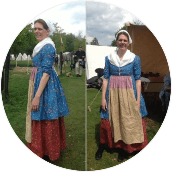 Daphne Robes & Cloaks re-enactor