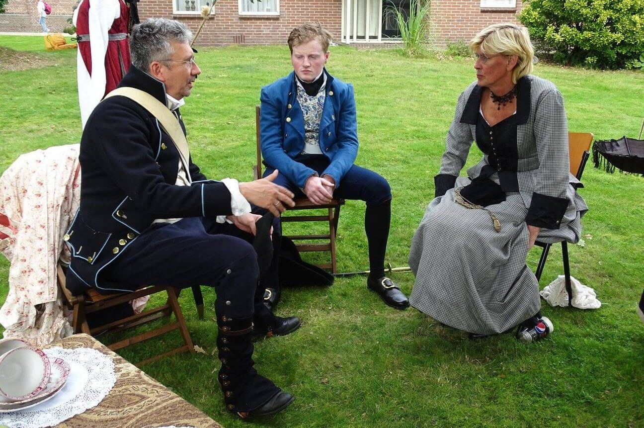 Robes & Cloaks reenactment