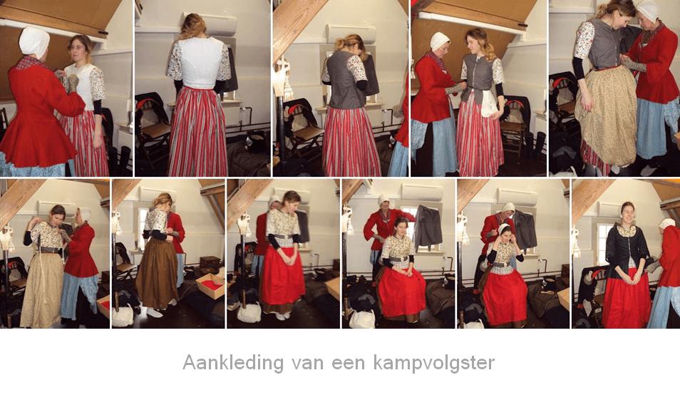 Re-enactment : Kampvolgster Robes & Cloaks