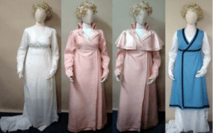 Regency gown Robes & Cloaks