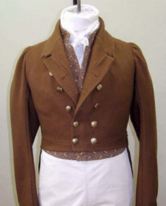 Men's regency tailcoat historisch trouwkostuum