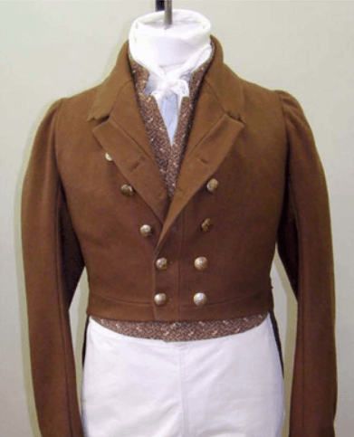 Men's regency tailcoat