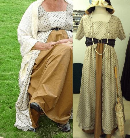 Teagown masterclass historische kleding