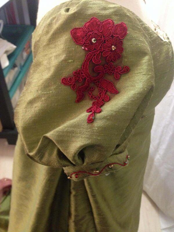 Regency ballgown of silk