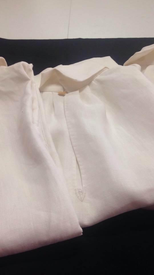 linen shirt living history