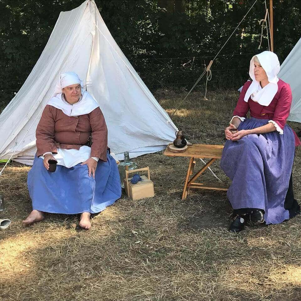 Levende geschiedenis Historisch Festijn Vorden en Robes & Cloaks