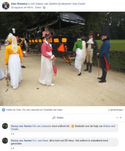 Napolentisch levende geschiedenis