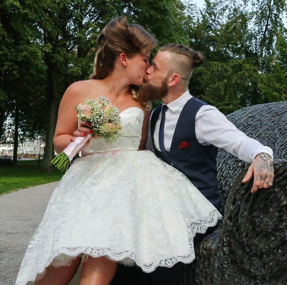 Wedding dress   Rock 'n Roll