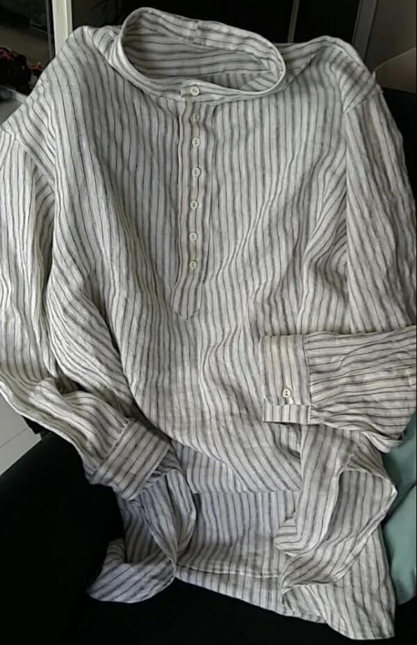 Linnen blouse WO1