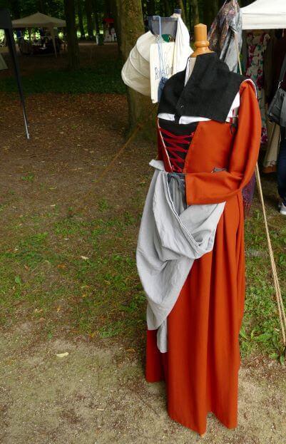 17e eeuwse jurk Robes & Cloaks